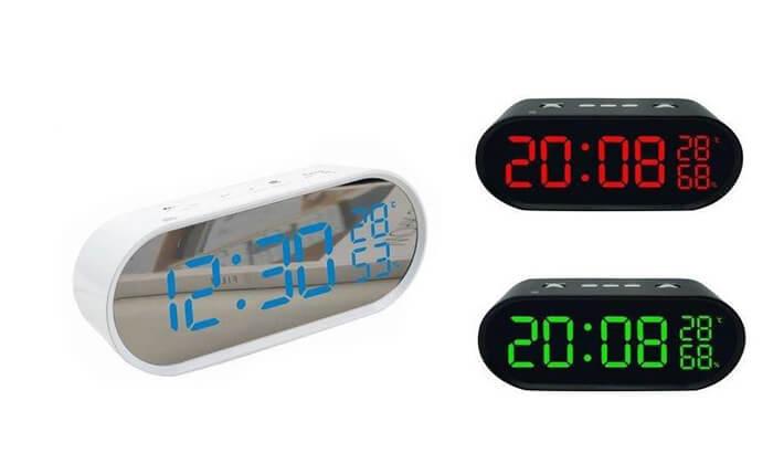 2 שעון רדיו דיגיטלי