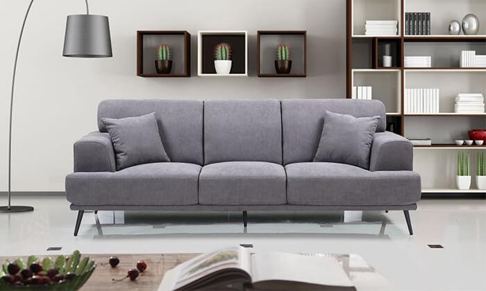 12 ספה תלת-מושבית HOME DECOR