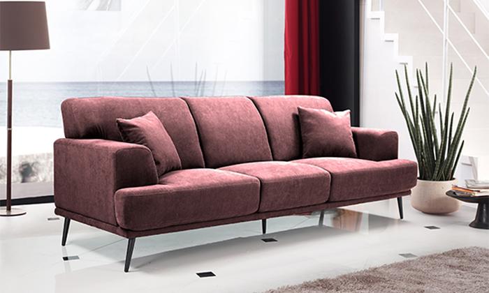 10 ספה תלת-מושבית HOME DECOR