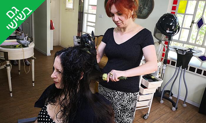 6 תספורת טיפולי שיער במספרת ספוסה בלה, שדרות מוריה בחיפה
