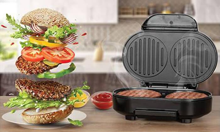 2 מכשיר ביתי להכנת המבורגר Selmor, דגם SE-176