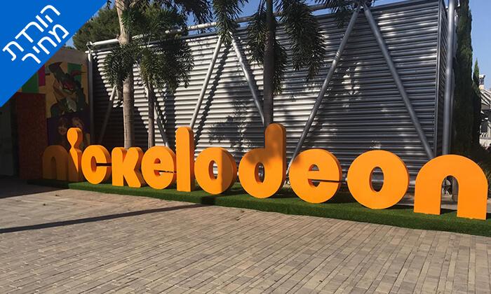 """3 כניסה ליחיד לפסטיבל ניק סיטי NICK CITY, גני התערוכה ת""""א"""