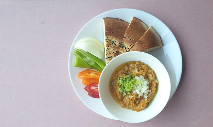 3 ארוחה במסעדת היילוגה - יהודה הלוי, תל אביב