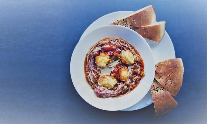 6 ארוחה במסעדת היילוגה - יהודה הלוי, תל אביב