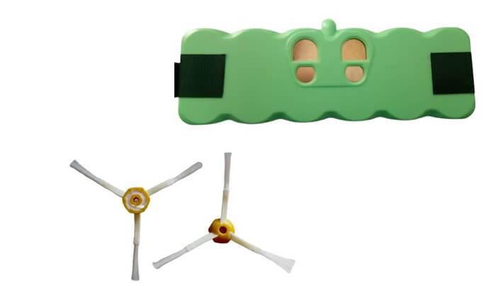 2 סוללת ליתיום לשואבי אבק iRobot Roomba