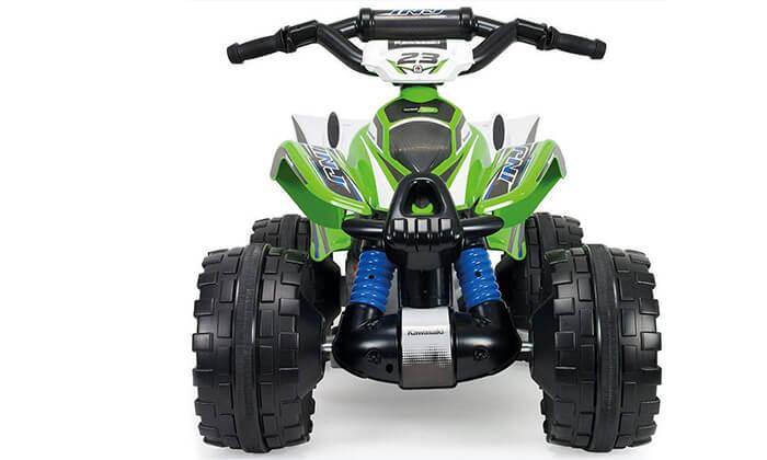 3 טרקטורון ממונע לילדים Kawasaki 12V