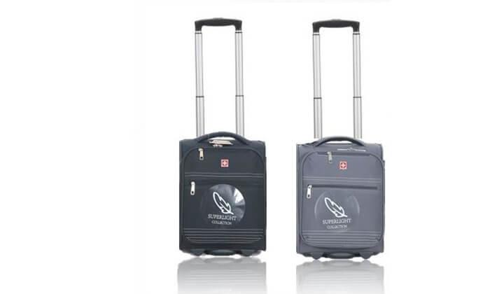 """5 מזוודת עליית למטוס """"16 SWISS BAG"""