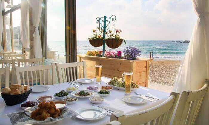 6 ארוחה זוגית במסעדת בני הדייג עם יין וקינוח, ראשון לציון