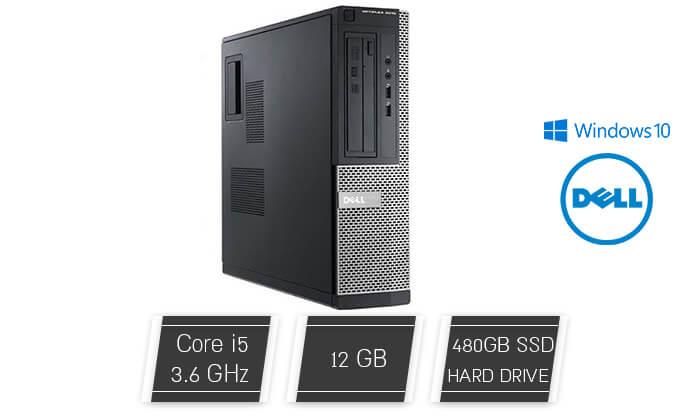2 מחשב נייח DELL עם מעבד i5