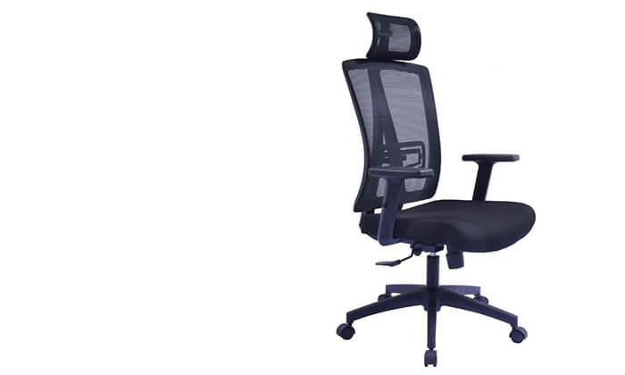 2 כיסא מנהל אורתופדי