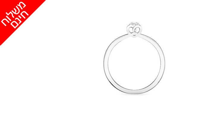 5 טבעת יהלום קלאסית 14K של GOLDIAM - משלוח חינם