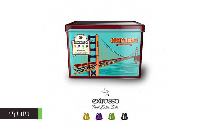 4 100 קפסולות קפה Extrasso