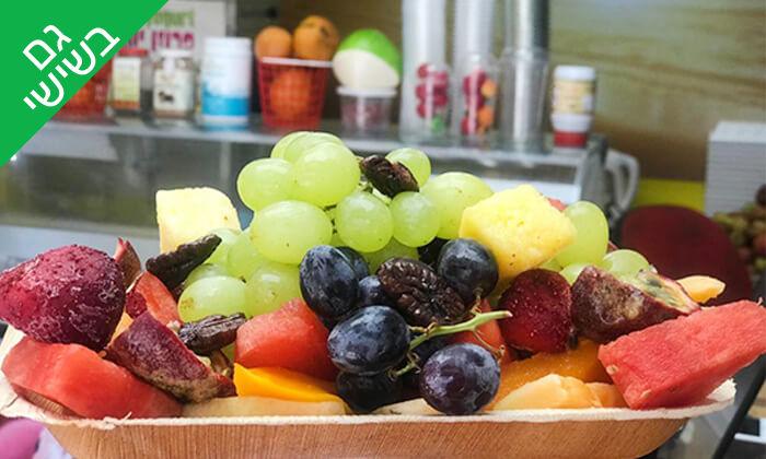 4 מגש פירות ממיצי בוגרשוב, תל אביב