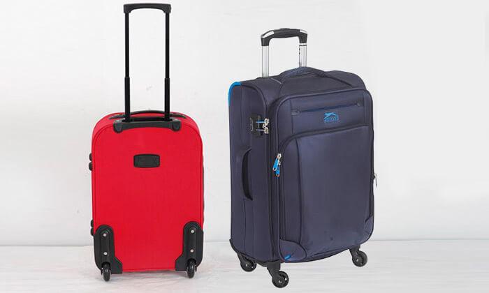3 מזוודות קלות משקל