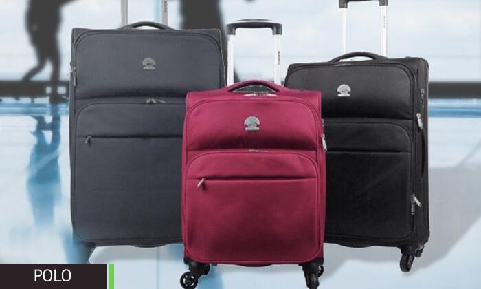 4 מזוודות קלות משקל