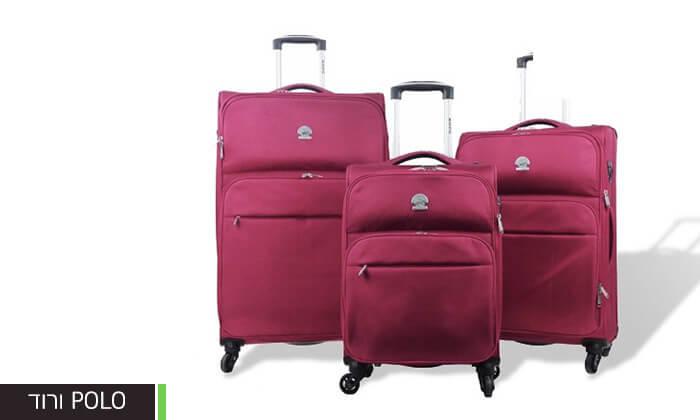 8 מזוודות קלות משקל