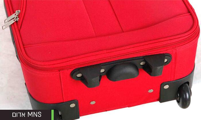 15 מזוודות קלות משקל