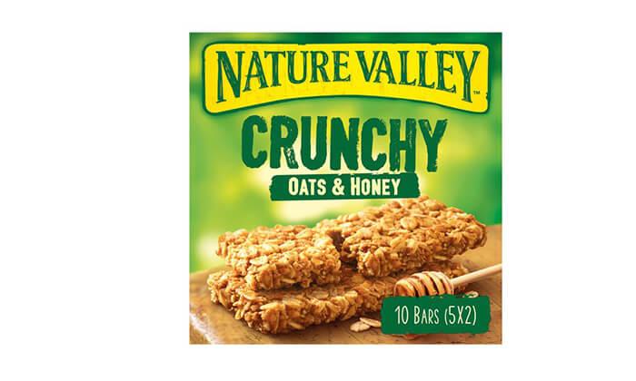 6 10 מארזים של חטיפי גרנולה NATURE VALLEY