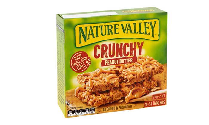 7 10 מארזים של חטיפי גרנולה NATURE VALLEY