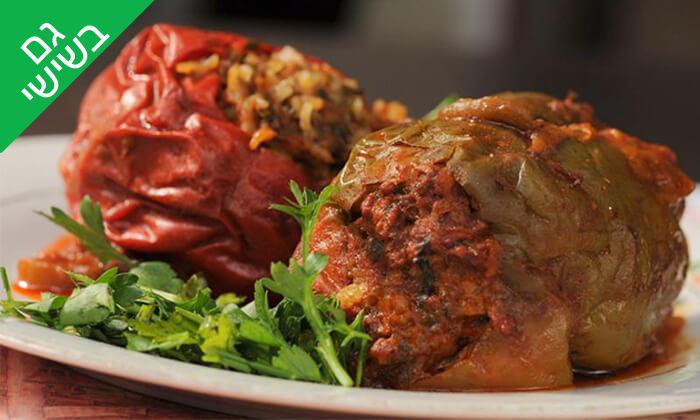 3 ארוחה זוגית במסעדת פרג'י, שוק הפשפשים יפו