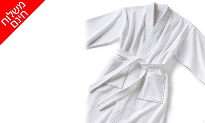 3 חלוק מגבת XL של ערד טקסטיל - משלוח חינם