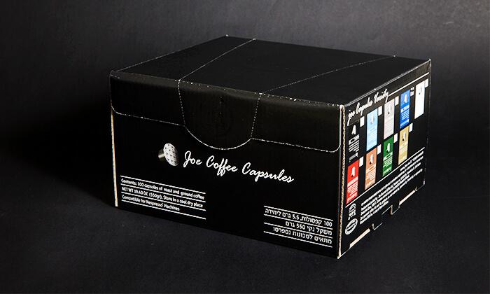 3 מארז קפסולות קפה JOE