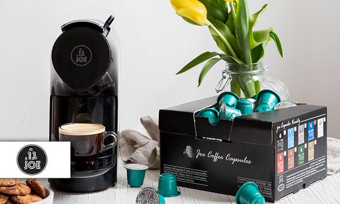 מארז קפסולות קפה JOE תואמות נספרסו - משלוח חינם