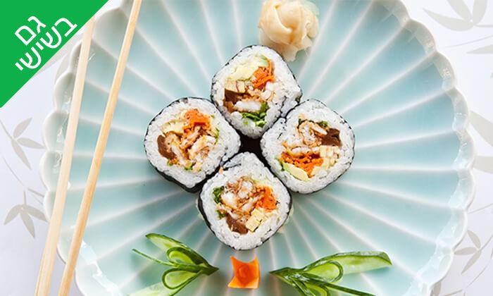 15 אקיקו סושי בר ברמת אביב - ארוחה זוגית מפנקת