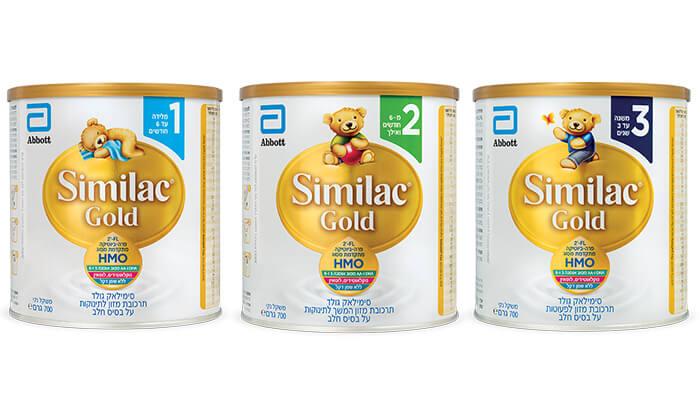 3 מארז 6 יחידות Similac Gold