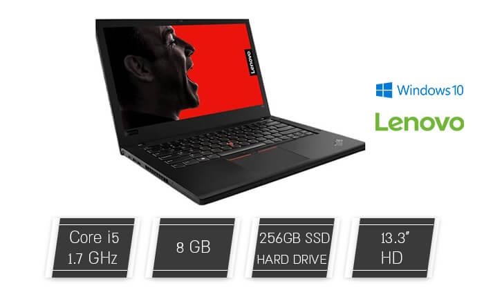 מחשב נייד Lenovo עם מסך 13.3 אינץ' - משלוח חינם