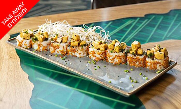 6 מגש סושי כשר ב-Take Away ומשלוח ממסעדת ניושי, נס ציונה