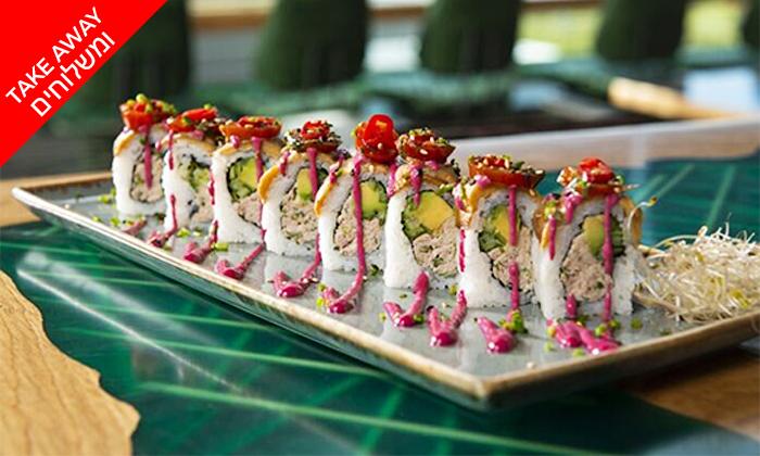4 מגש סושי כשר ב-Take Away ומשלוח ממסעדת ניושי, נס ציונה