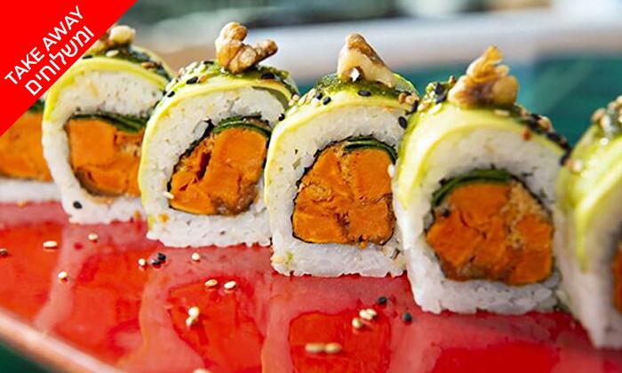 7 מגש סושי כשר ב-Take Away ומשלוח ממסעדת ניושי, נס ציונה