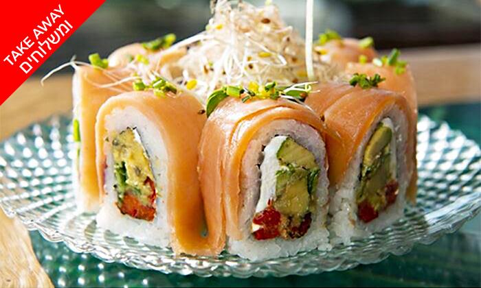 11 מגש סושי כשר ב-Take Away ומשלוח ממסעדת ניושי, נס ציונה