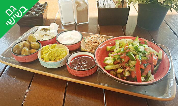 3 ארוחת בוקר זוגית במסעדת לוקמה, יפו