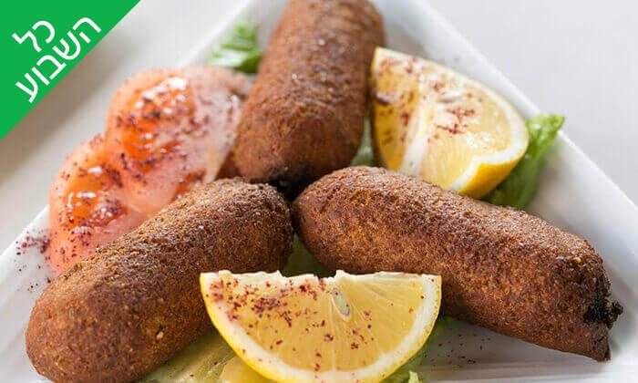9 ארוחה זוגית במסעדת אבו זאקי - בן יהודה, תל אביב