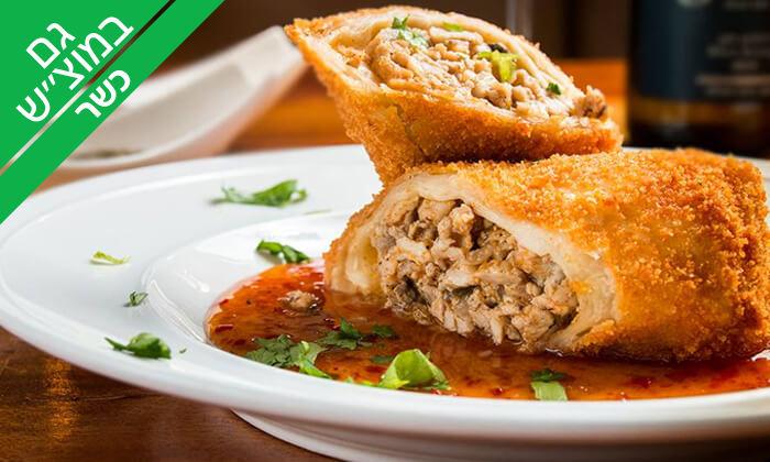 4 ארוחה זוגית כשרה במסעדת אל גאוצ'ו, סניף ראשון לציון