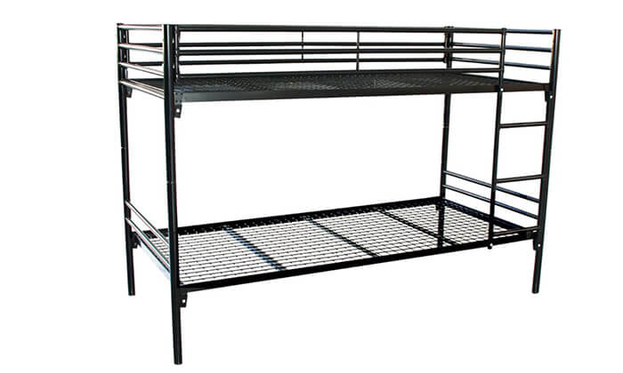 2 מיטת קומותיים NOMURA ממתכת
