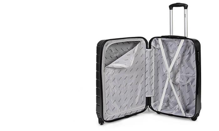 11 סט 3 מזוודות קשיחות SWISS