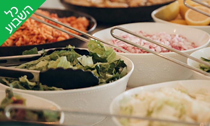 5 ארוחת צהריים זוגית בבבית של דולב ויאסיה - Sea Nior, נתניה