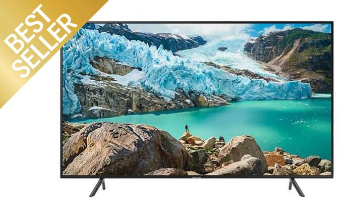 2 טלוויזיה חכמה 4K SAMSUNG, מסך 50 אינץ'