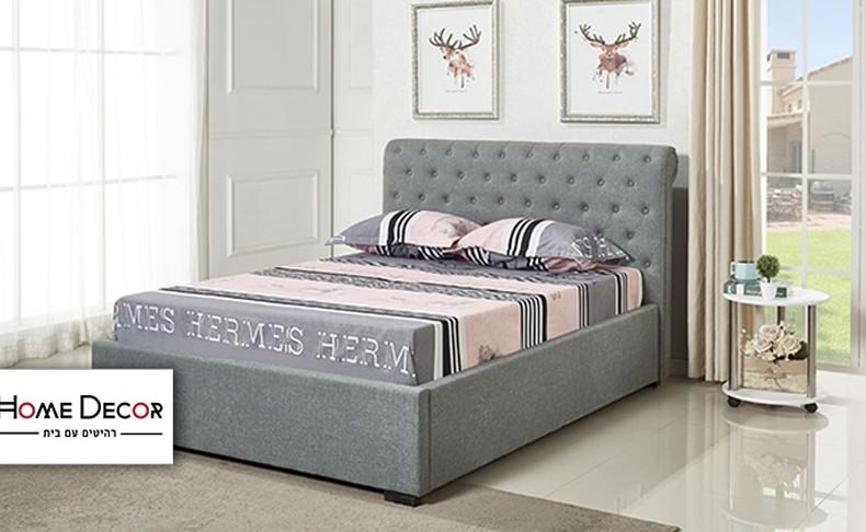 מיטה זוגית דגם קים HOME DECOR