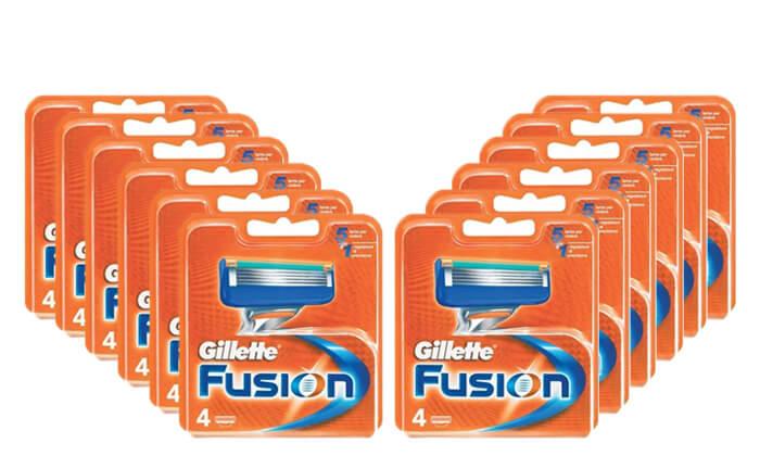 2 מארז סכיני גילוחGillette Fusion