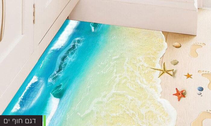 5 מדבקות רצפה תלת מימד לעיצוב הבית
