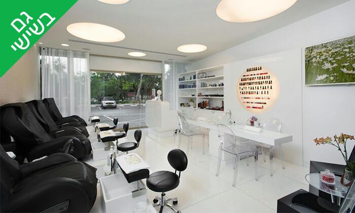 3 טיפול קוסמטי בצלוליט במכון היופי The beauty lounge, תל אביב