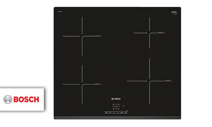 2 כיריים אינדוקציה 4 אזורי בישול בוש Bosch