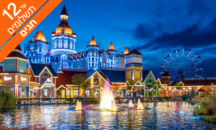 7 טיול מאורגן 5 ימים בסוצ'י, הריביירה הרוסית, כולל חגים
