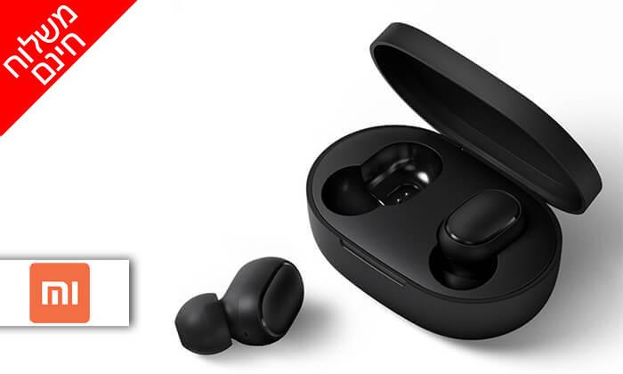 2 אוזניות Bluetooth נטענות XIAOMI - משלוח חינם