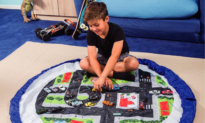 3 משטח משחק מתקפל לשק צעצועים