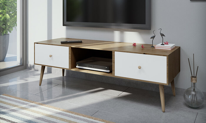3 סט שולחן סלון ומזנון
